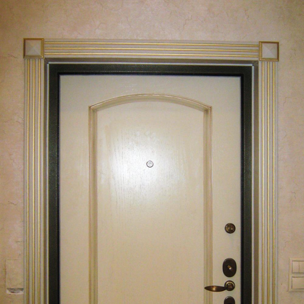 Портал из дуба на входную дверь